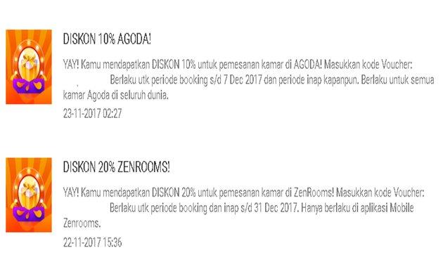 Voucher Diskon Gratis AGODA, ZENROOMS dan AIRYSKY - Shopee.co.id
