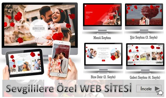 sevgiliye özel site