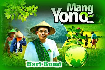 MENYAMBUT HARI BUMI (EARTH DAY) TANGGAL 22 APRIL.
