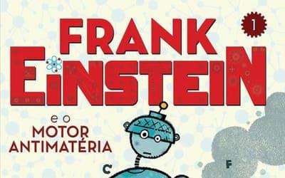 "Resenha de ""Frank Einstein e o motor antimatéria"" [Jon Scieszka]"