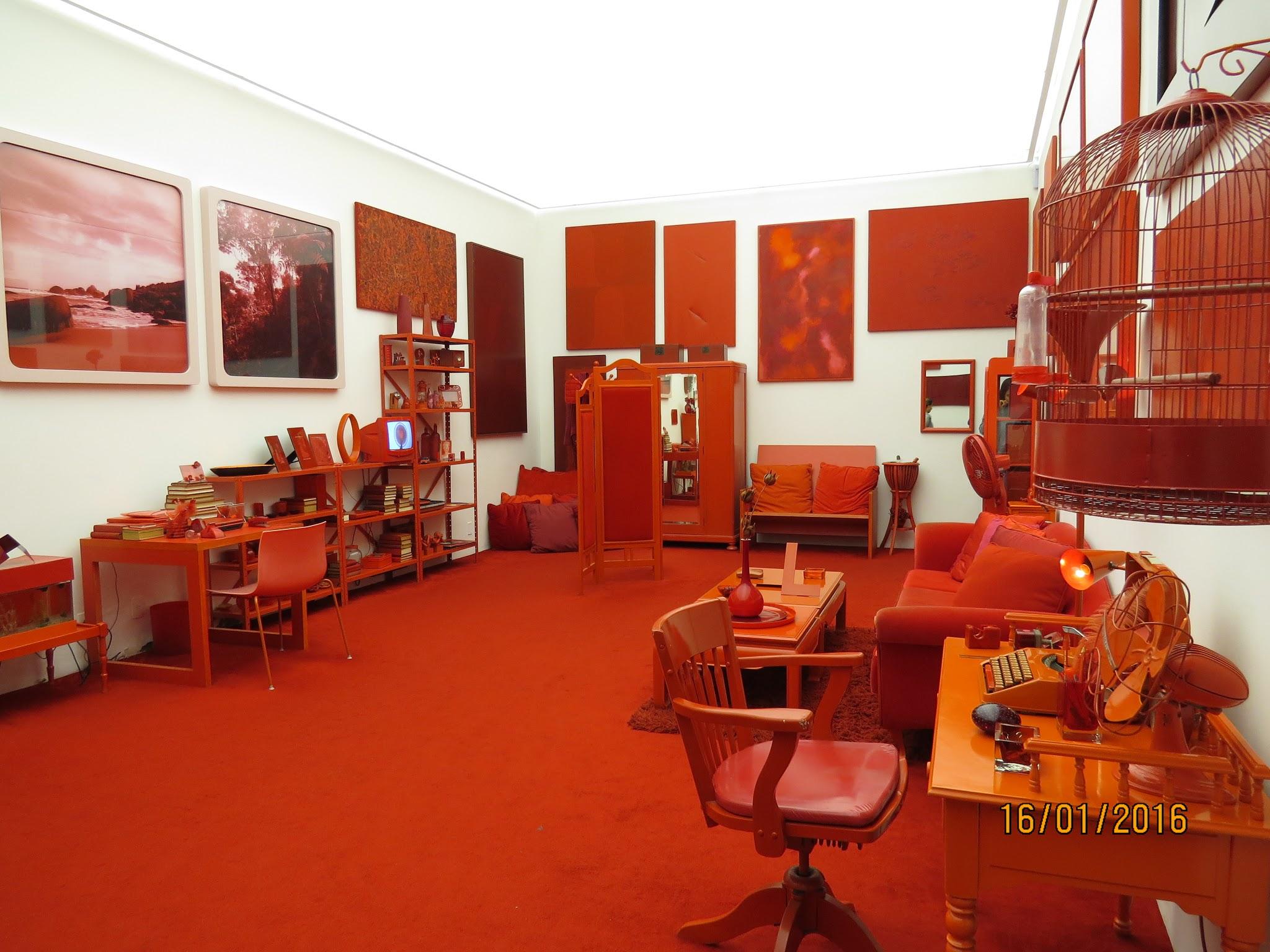 quarto vermelho inhotim