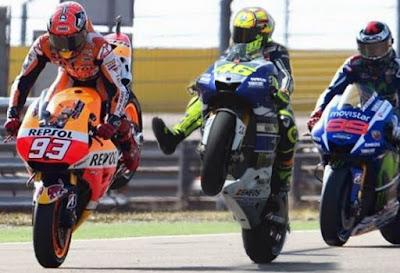 Rossi vs Marquez Bakal Kembali Memanas di GP Assen