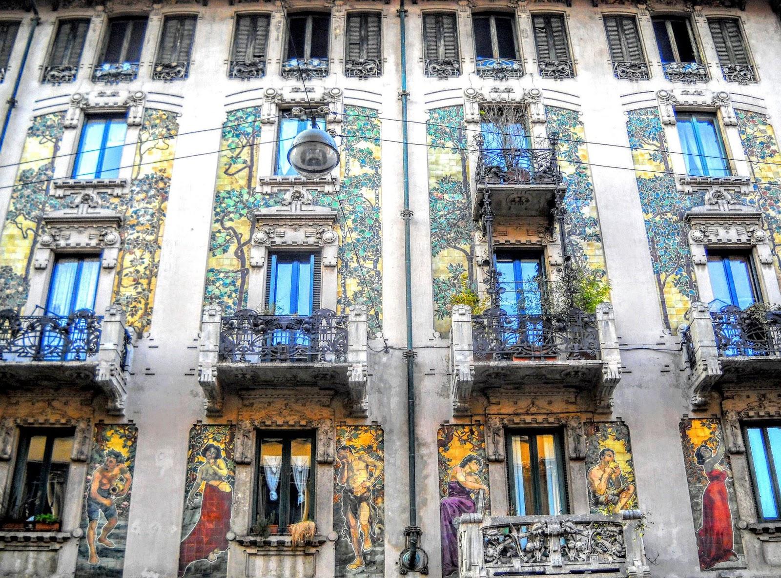 Obras Modernismo Europa Casa Milán