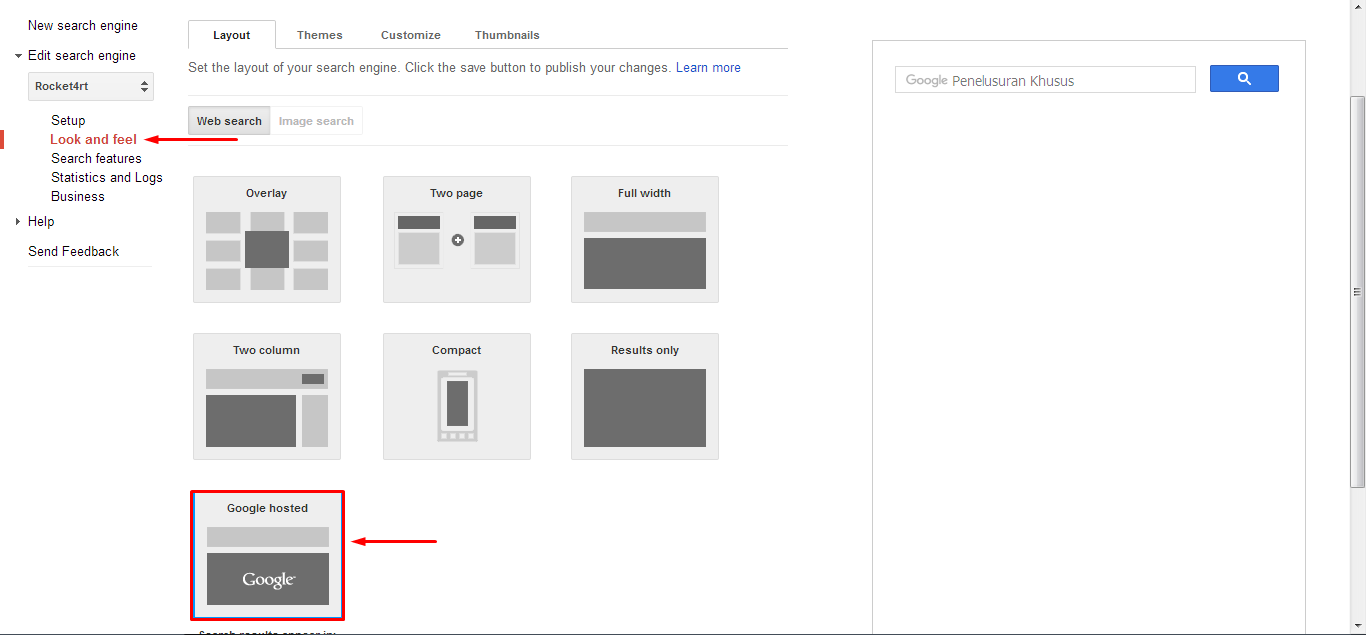 Cara Memasang Gambar Logo Blog di Google Custom Search