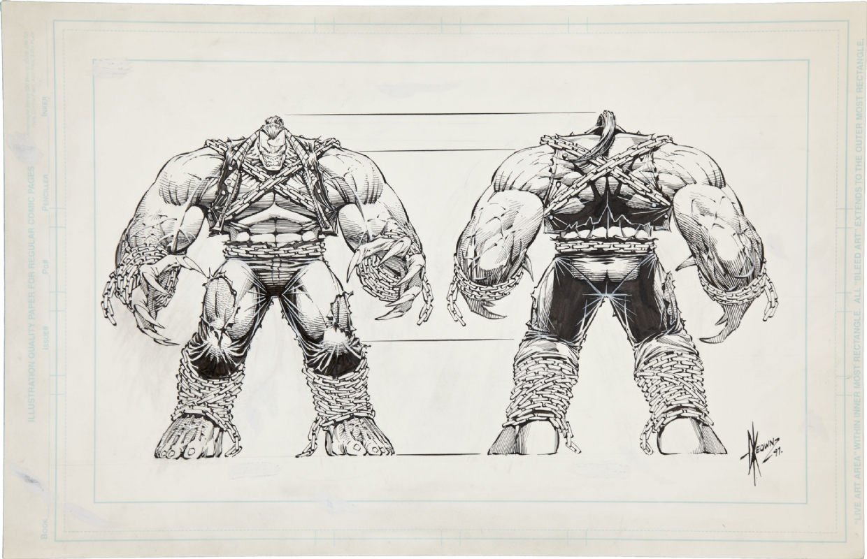 The Dork Review Dale Keown S Pit Model Sheet