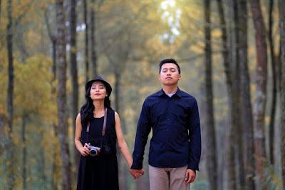 Tempat Romantis Alas Pinus Coban Talun Batu Malang
