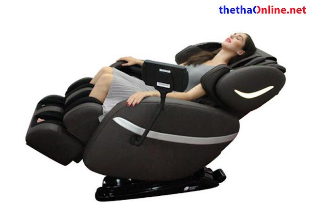 trải nghiệm ghế massage