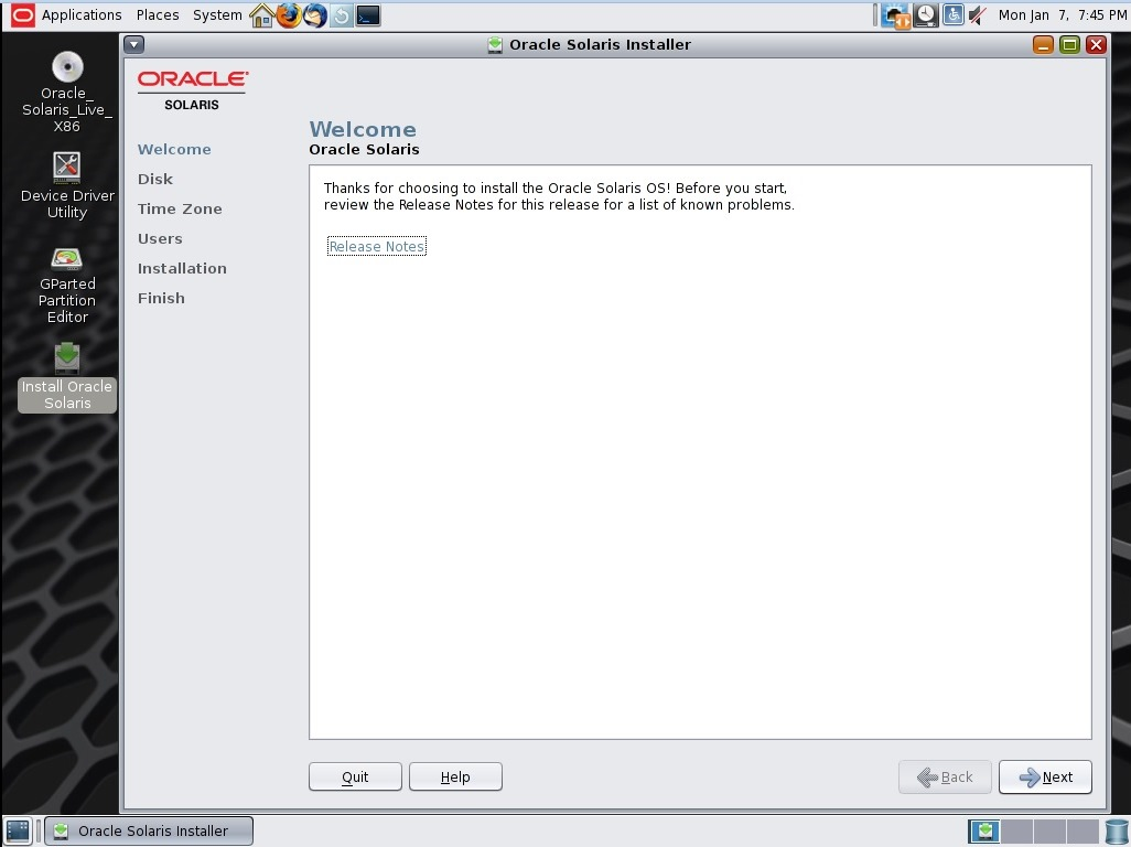 Installing Solaris 11 x86 Step by Step - TECHSUPPORT
