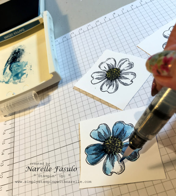 Flower Shop - Dimensional Flowers - Narelle Fasulo - Simply Stamping with Narelle