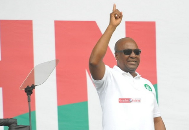 Mahama dares Akufo-Addo to explain one-district, one -factory promise