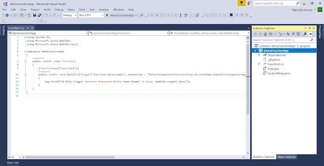 Solution - Visual Studio