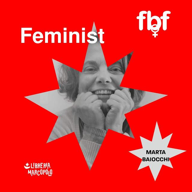 MARTA BAIOCCHI a Feminist Book Fortnight a Venezia