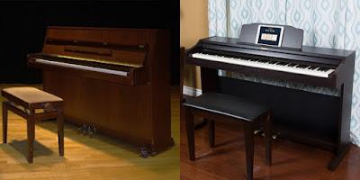 Giúp bạn phân biệt piano điện và piano cơ cực kì dễ dàng