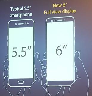 Perbandingan layar Zenfone dengan yang lain. (Dok.pri)