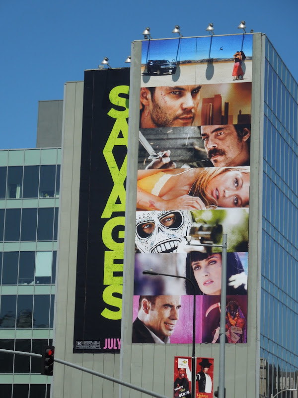 Giant Savages billboard
