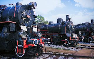 çamlık lokomotif müzesi