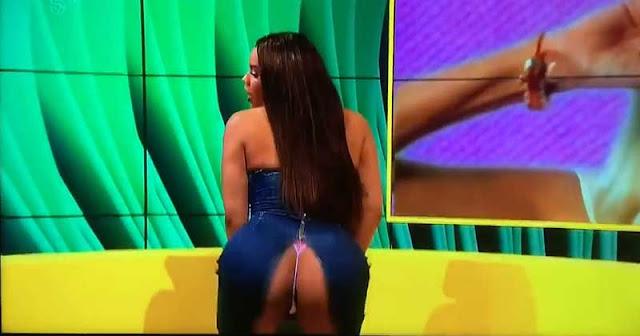 Lateysha Grace twerking