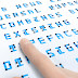 Braille Neue - Designer Japonês Cria Tipografia combinada com Braille