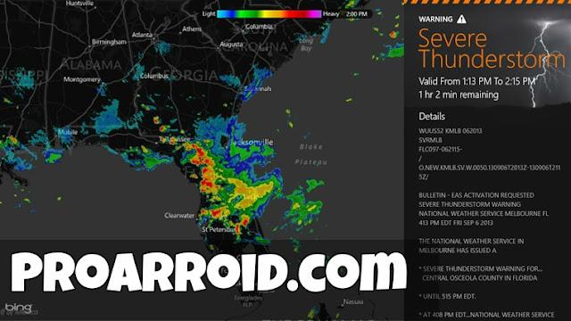 تطبيق MyRadar Weather Radar Pro لمعرفة حالة الطقس للاندرويد النسخة المدفوعة logo