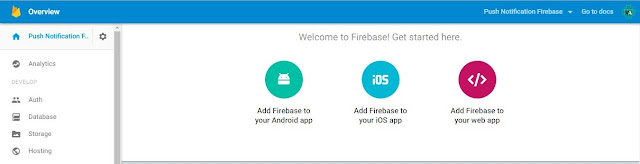 Add Your App to Your Firebase Project in the Firebase Console