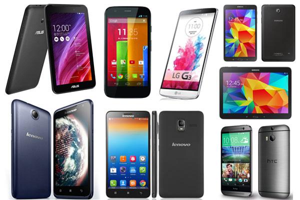 5 Smartphone dan 3 Tablet Android Banjiri Pasar