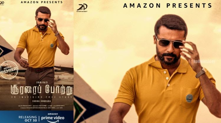 Suriya's 'Soorarai Pottru' gets direct OTT release in Amazon Prime Video