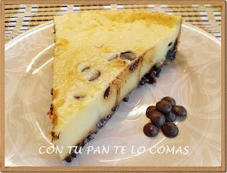 Tarta de mascarpone y chocolate