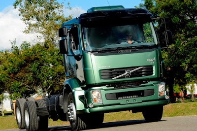 Cenário para demanda de caminhões faz Volvo melhorar previsões