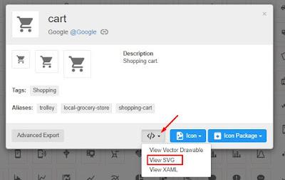 Cara Memasang Gambar Logo SVG di Blogspot