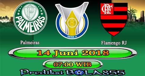 Prediksi Bola855 Palmeiras vs Flamengo RJ 14 Juni 2018