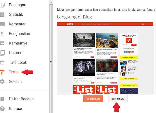 Widget Berlangganan Email Dengan Ikon Media Sosial Untuk Blogger