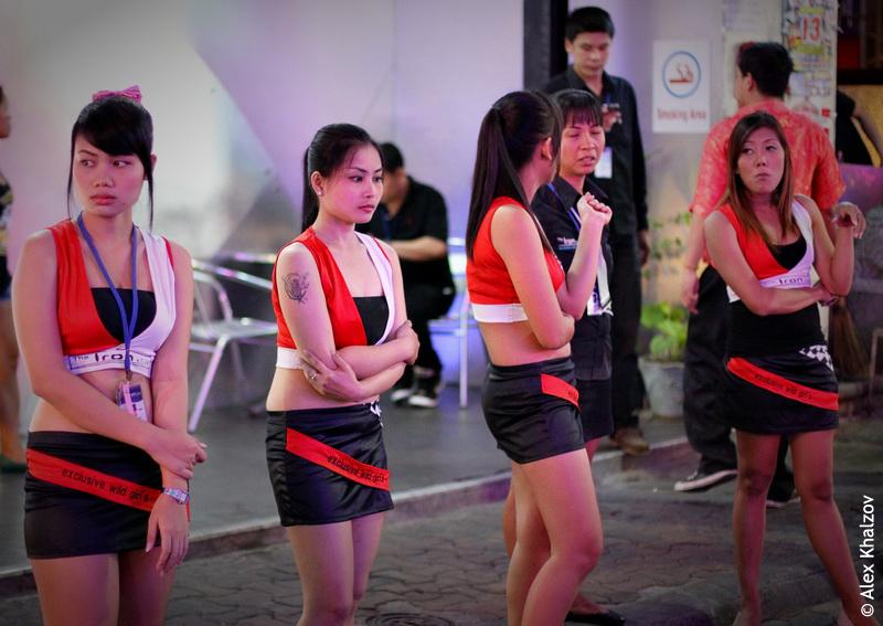 Pattaya go go girls