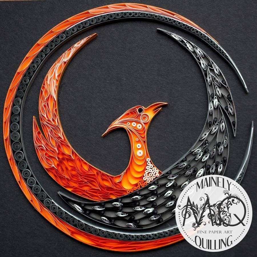 10-Phoenix-Logo-Stacy-Bettencourt-Quilling-Animals-and-Game-of-Thrones-www-designstack-co