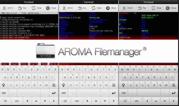Aroma File Manager [Android Recovery File Manager] | Greatopedia