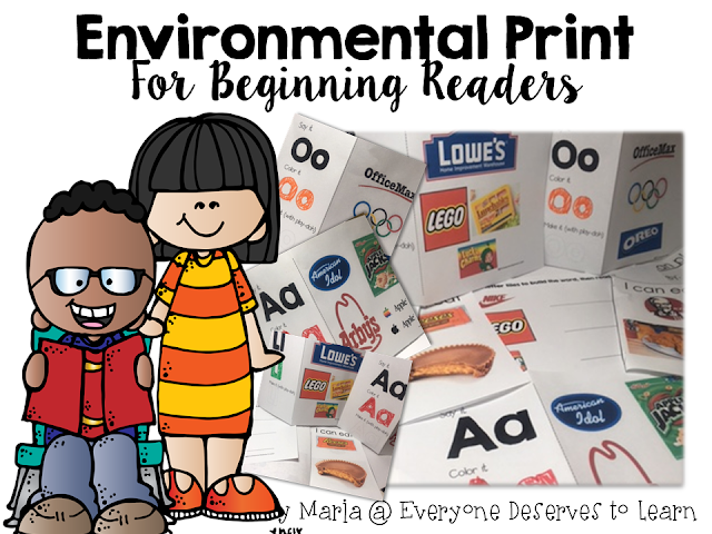 Once  had  class of ell first graders working in pairs with letter flashcards and one student started sniffling tearing up also use environmental print to practice literacy skills everyone rh everyonedeservestolearn