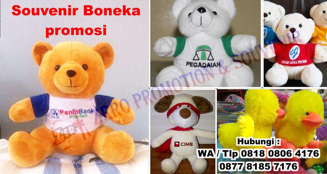 Produksi Souvenir Boneka promosi - Boneka maskot Custom  a6d94cd594