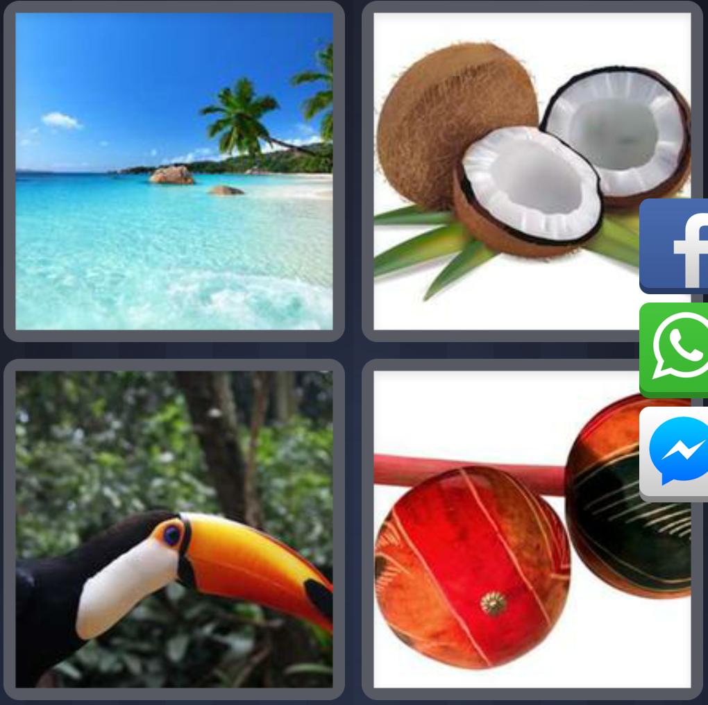 4 Fotos 1 Palabra respuestas. Para todos los