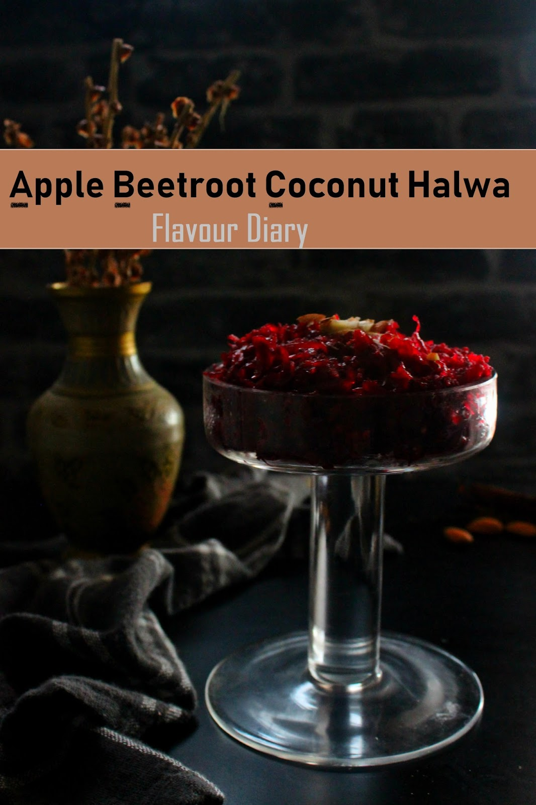 apple beetroot coconut halwa recipe