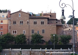 residencia pierleoni roma guia brasileira - Via del Teatro Marcello - 2500 anos de arquitetura