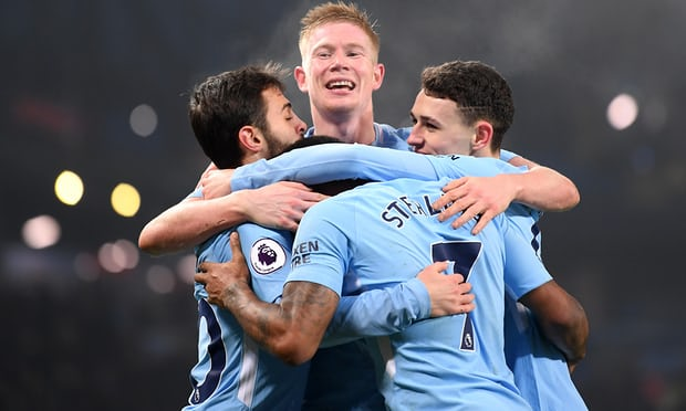 Selamat! Manchester City Juara Premier League 2017/2018