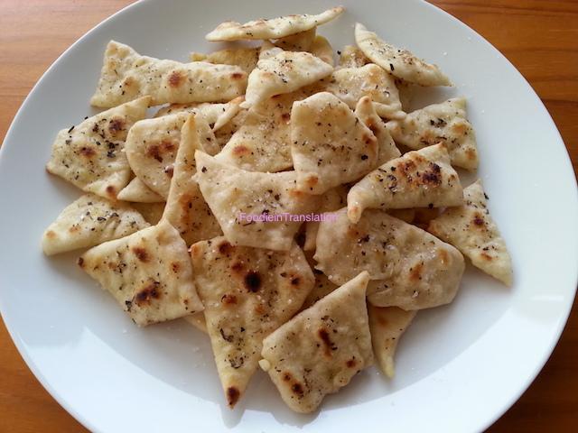 Pasta Madre: Simil nachos con esubero - Sourdough: Quasi-nachos with unfed sourdough