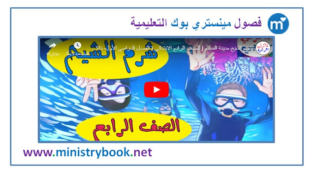 شرم الشيخ مدينة السلام للصف الرابع الابتدائي الترم الاول