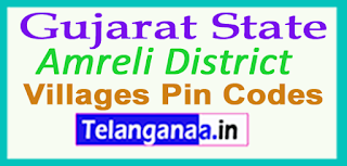 Amreli District Pin Codes in Gujarat State