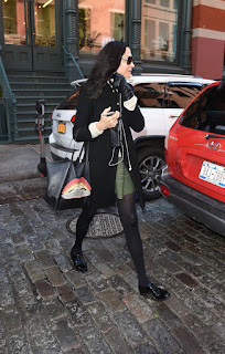 Famke Janssen Out In New York