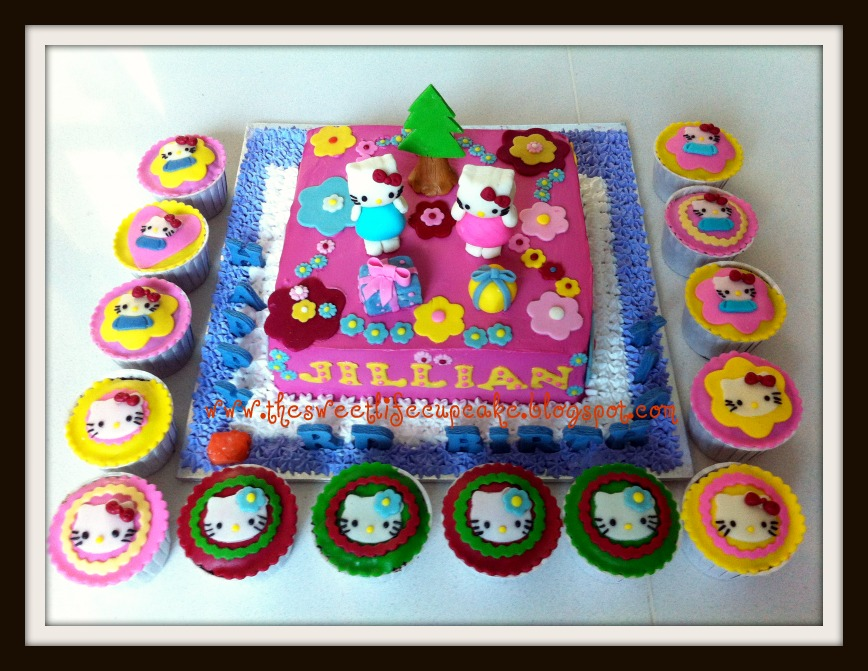 The Sweet Life Cupcake Happy Birthday Jillian