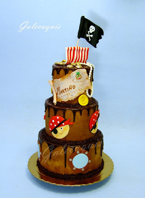 Drip cake pirata