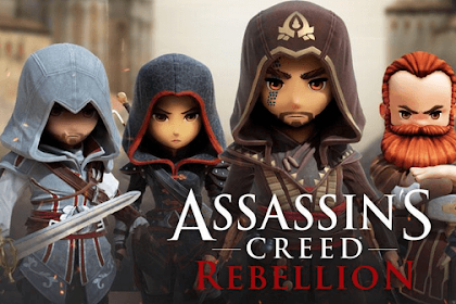 Free Download Games Assassins Creed Rebellion MOD Apk Unlimited All for Android