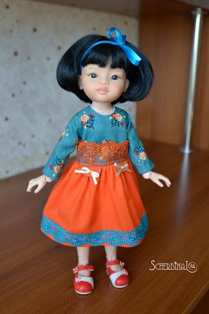 Игровые куклы для девочек, Паола Рейна, Paola Reina, Лиу
