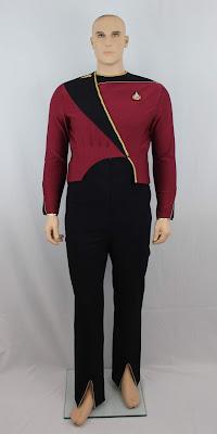 Men's TNG season 1 admiral uniform for sale