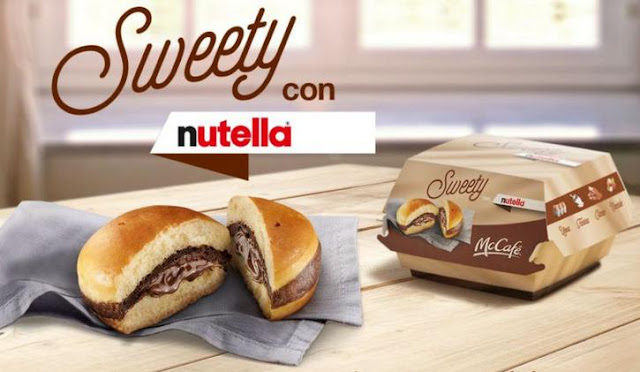sweety nutella mac donalds